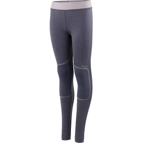 Houdini Jr Alpha Long Johns Greystone Purple